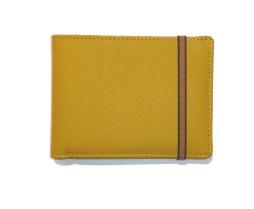 bbh paris bien bien habillés mode responsable carré royal Portefeuille cuir taurillon jaune 1
